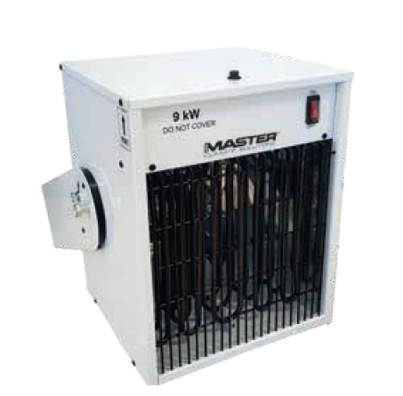 MASTER TR 9 electric heater hanging