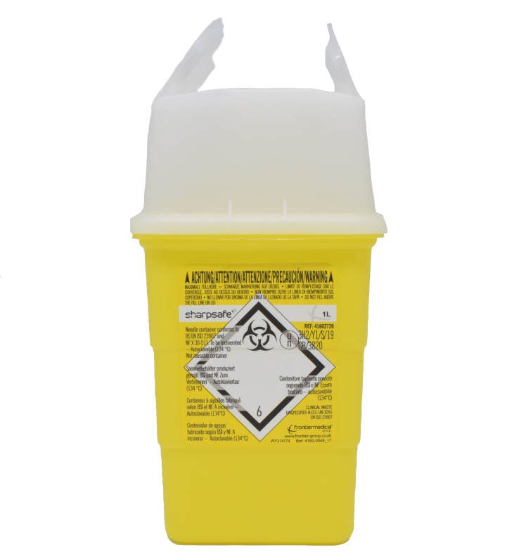 Disposal container, 1 L