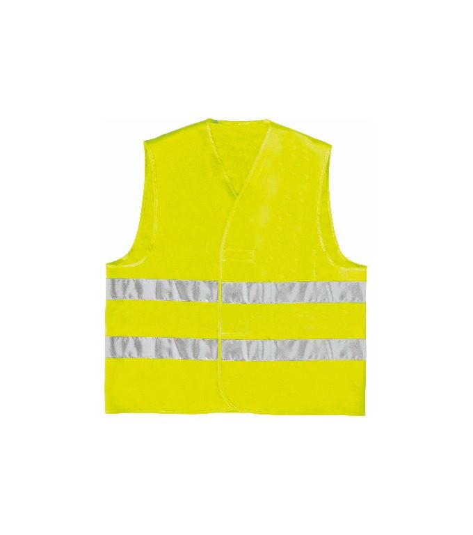 Delta Plus Polyester high visibility vest - parallel assembly