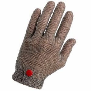 Stainless steel chainmail glove WILCO, without cuff