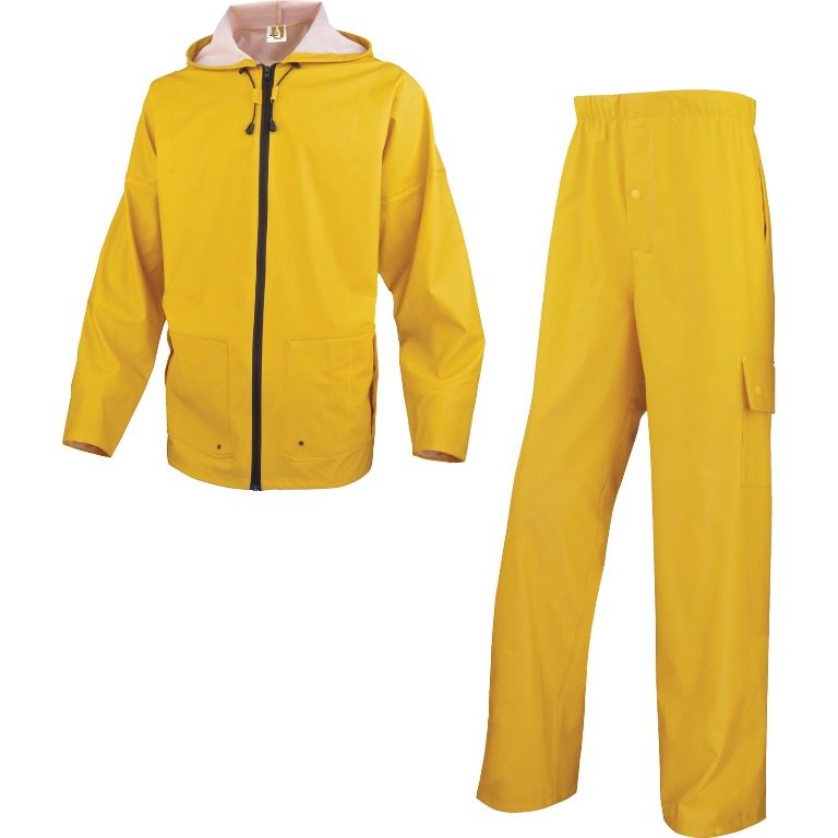Delta Plus Mixed polyurethane coated polyester support rain suit