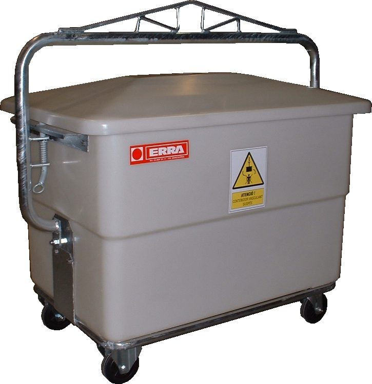 Carcass Container with trigger, 440 lts