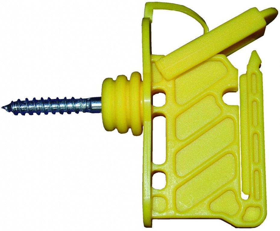 Insulator For Wood Posts: For Use With Poly Tape And Poly Rope Model 20