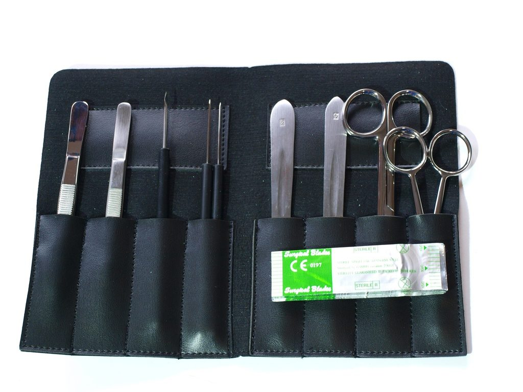 Dissecting set, 10-parts