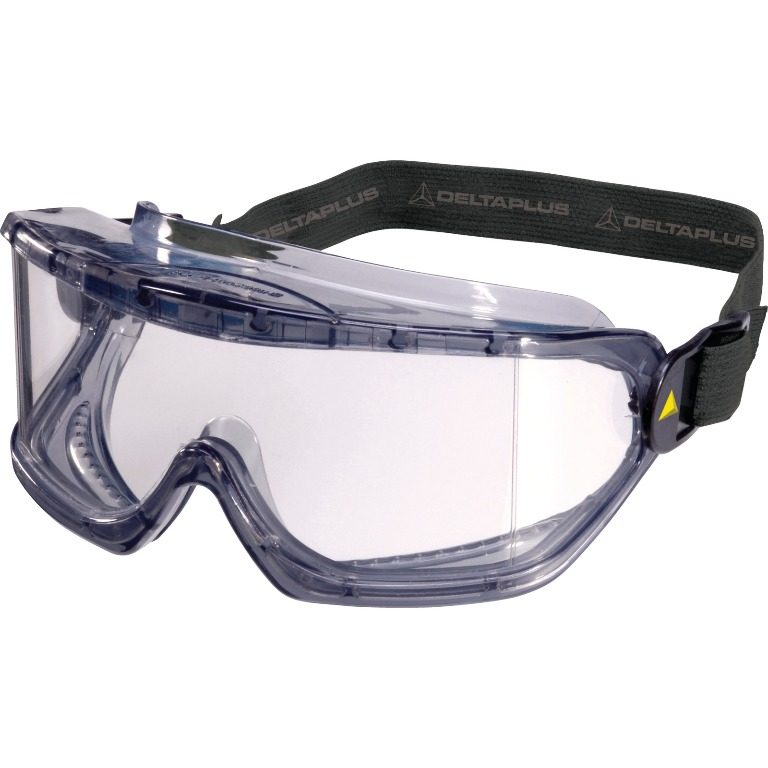 Clear polycarbonate goggles
