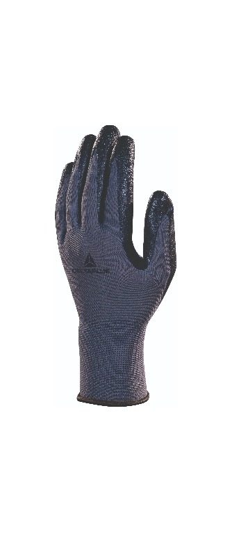 Polyester knitted glove - nitrile foam palm